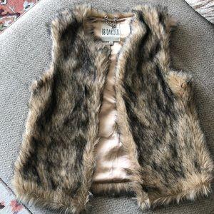 B.B Dakota Faux Fur Vest